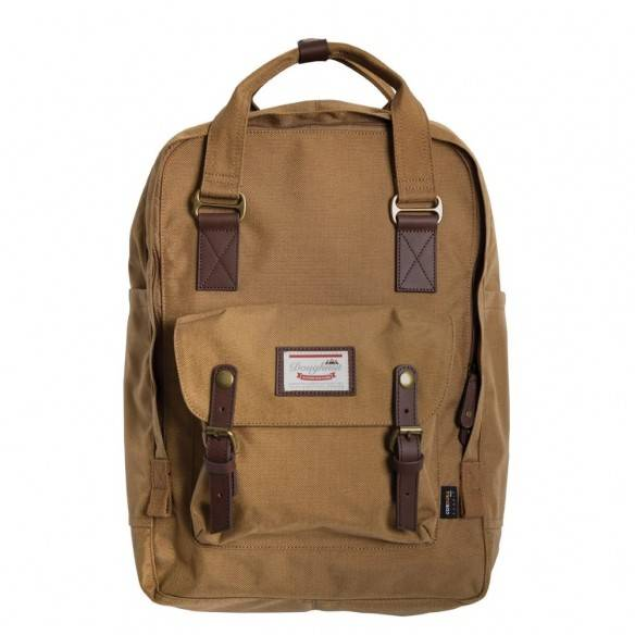 Doughnut Macaroon Backpack Large Cordura Camel