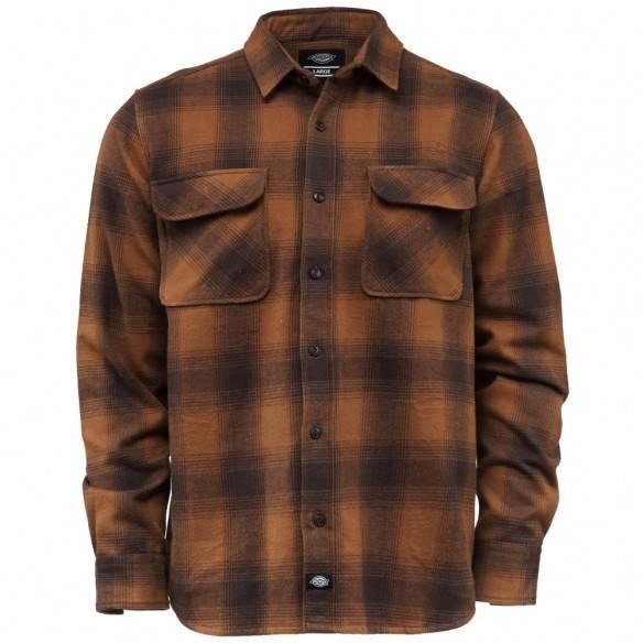 Dickies Waneta Shirt Brown