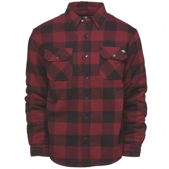 Dickies Lansdale Shirt Maroon