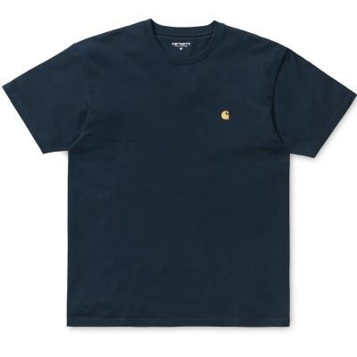 Carhartt Chase T-Shirt Duck Blue