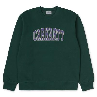 Carhartt Theory Sweatshirt Dark Fir