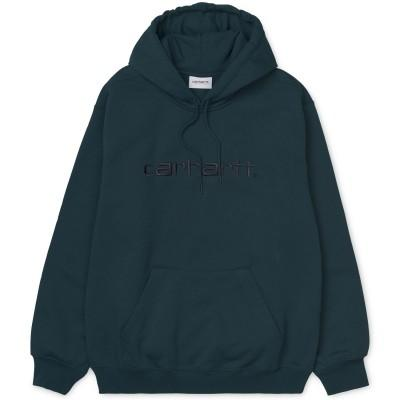 Carhartt Hooded Sweatshirt Duck Blue Black