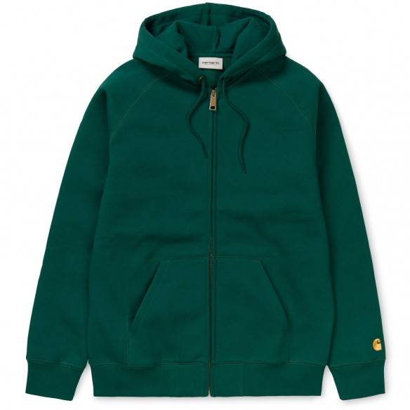 Carhartt Hooded Chase Jacket Dark Fir
