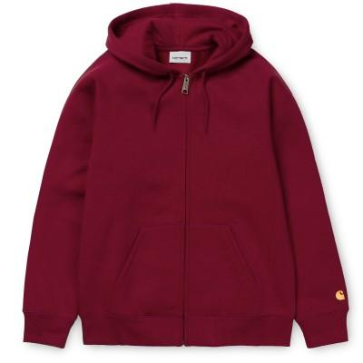 Carhartt Hooded Chase Jacket Cardinal