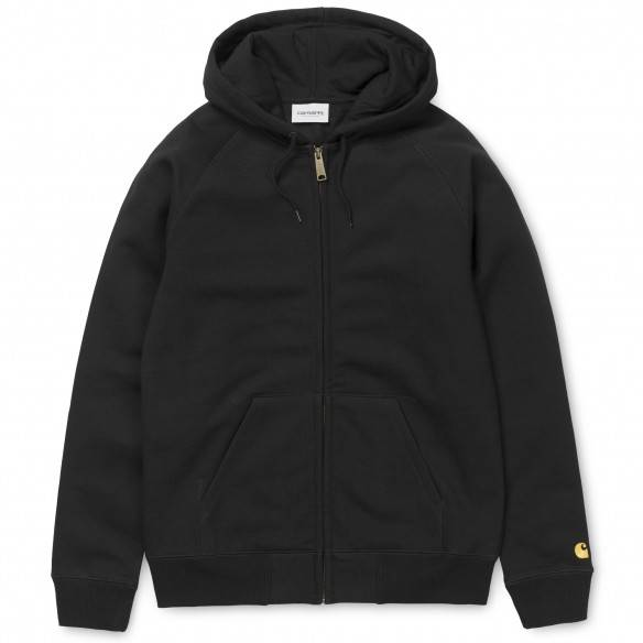 Carhartt Casaco Hooded Chase Black