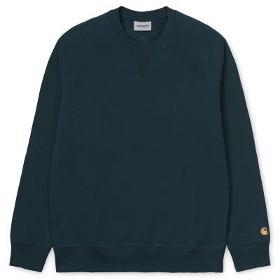 Carhartt Chase Sweatshirt Duck Blue
