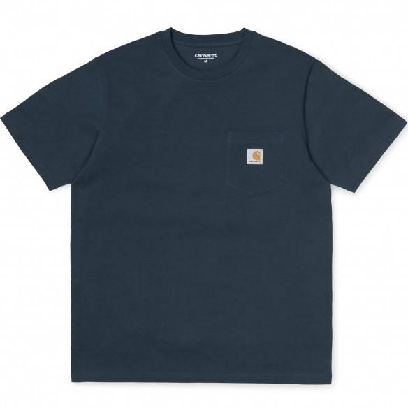 Carhartt T-Shirt Pocket Duck Blue