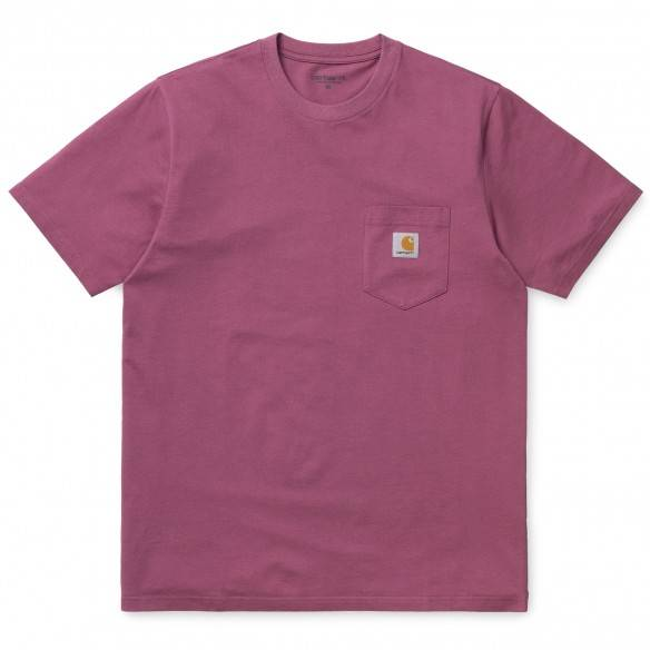 Carhartt T-Shirt Pocket Dusty Fuschia