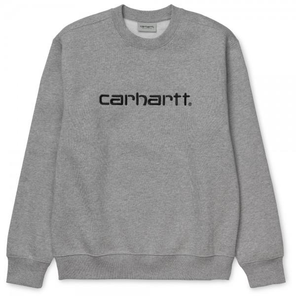 Carhartt Sweatshirt Grey Heather Black