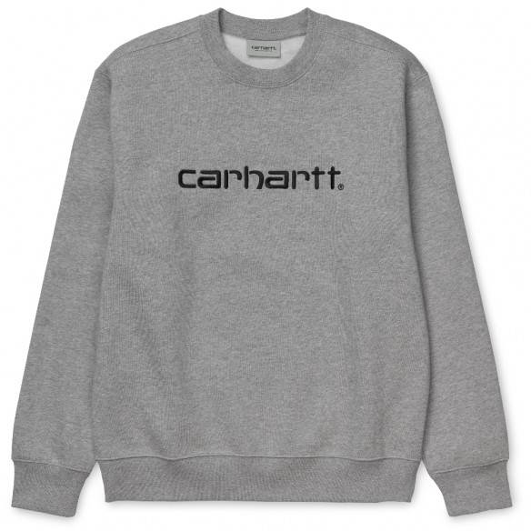 Carhartt Sweatshirt Grey Heather Black