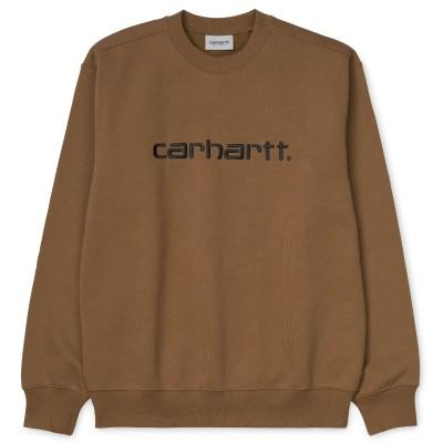 Carhartt Sweatshirt Hamilton Brown Black