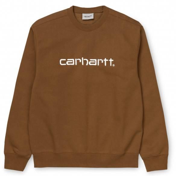Carhartt Sweatshirt Hamilton Brown White
