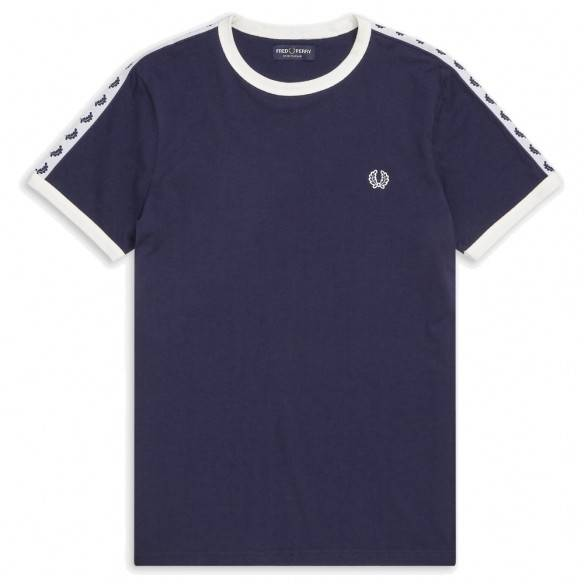 Fred Perry Taped Ringer T-Shirt M6347-885