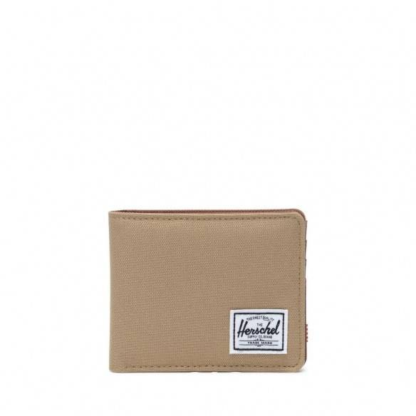 Herschel Roy Wallet Kelp/Saddle Brown