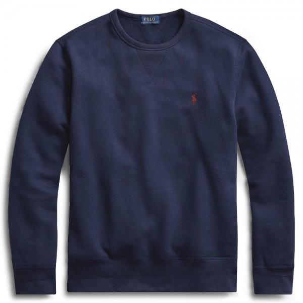 Polo Ralph Lauren Sweatshirt Fleece Crewneck Navy