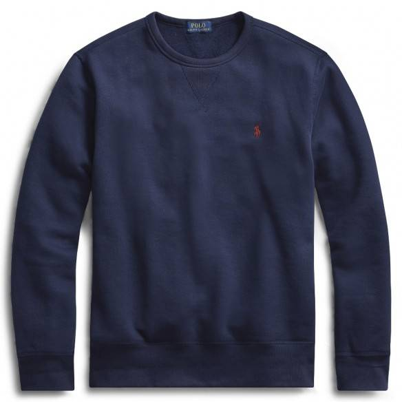 Polo Ralph Lauren Fleece Crewneck Sweatshirt Navy