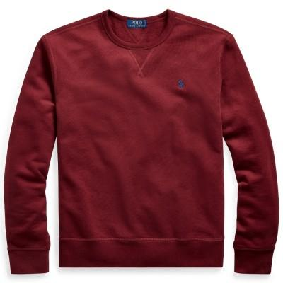 Polo Ralph Lauren Sweatshirt Fleece Crewneck Red