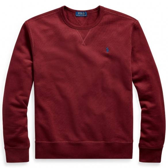Polo Ralph Lauren Fleece Crewneck Sweatshirt Red