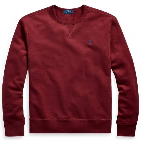 Polo Ralph Lauren Sweatshirt Fleece Crewneck Red