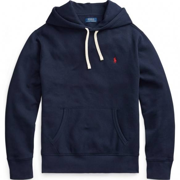 Polo Ralph Lauren Hooded Fleece Sweatshirt Navy