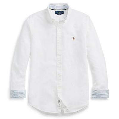 Polo Ralph Lauren Slim Fit Oxford Shirt White