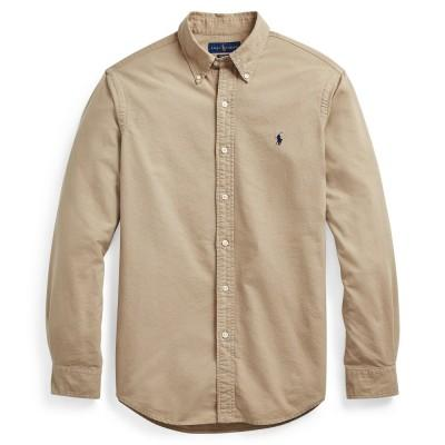 Polo Ralph Lauren Camisa Oxford Slim Fit Surrey Tan