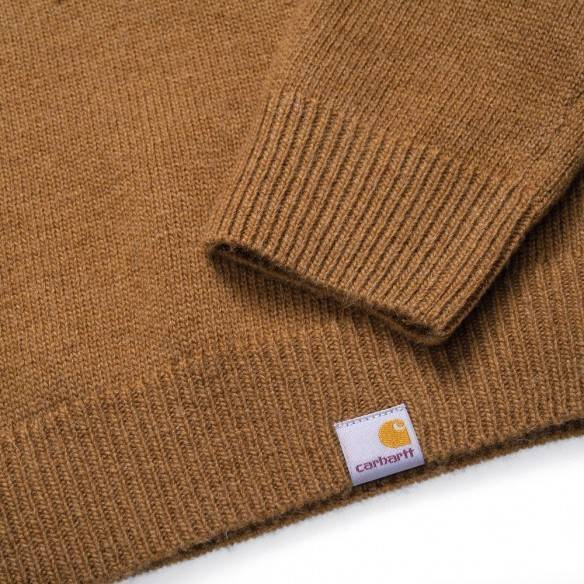Carhartt Allen Sweater Hamilton Brown