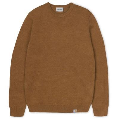 Carhartt Allen Sweater Hamilton Brown