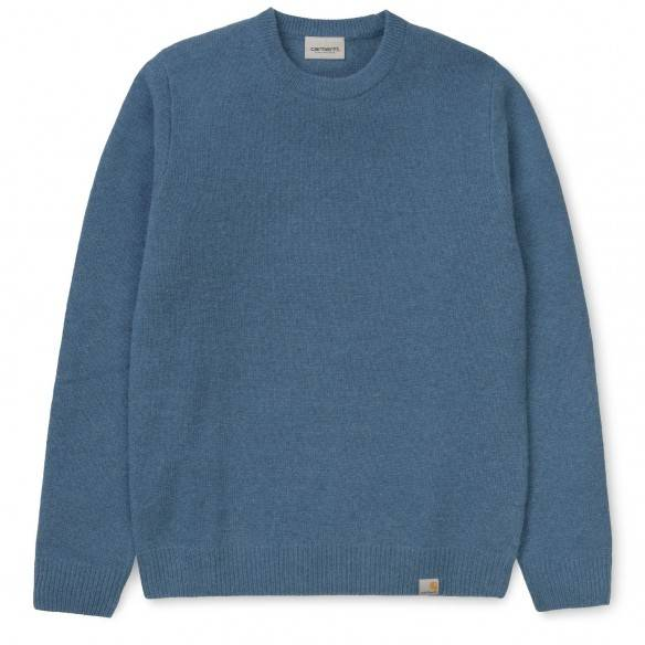 Carhartt Allen Sweater Prussian Blue