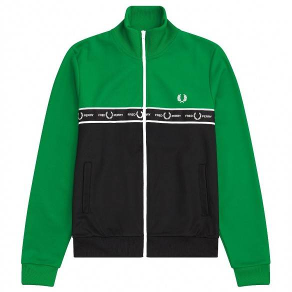 Fred Perry Taped Colour Block Track Jacket J7526-I64