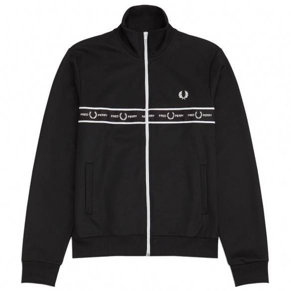 Fred Perry Taped Chest Track Jacket J7501-102