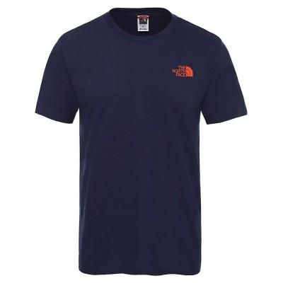 The North Face T-Shirt Simple Dome Montague Blue