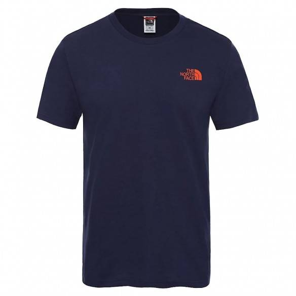 The North Face Simple Dome T-Shirt Montague Blue