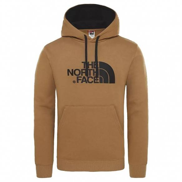 The North Face Sweatshirt Drew Peak Hoodie British Khaki