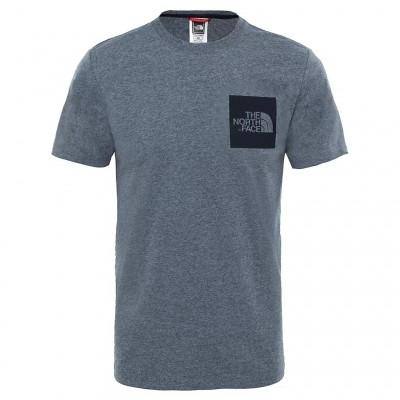 The North Face T-Shirt Fine Medium Grey Heather