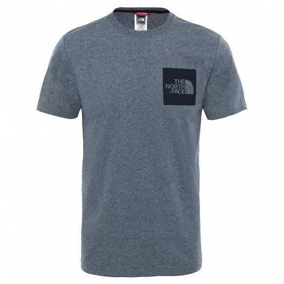 The North Face Fine SS T-Shirt Medium Grey Heather
