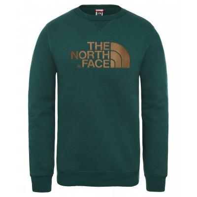 The North Face Drew Peak Sweatshirt Night Green