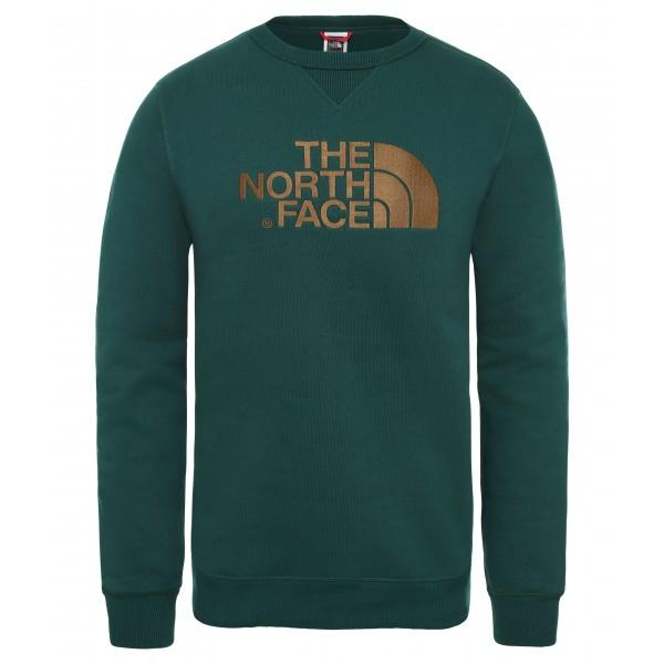 The North Face Drew Peak Sweatshirt Night Green