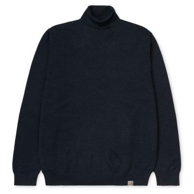 Carhartt Playoff Turtleneck Sweater Dark Navy Heather