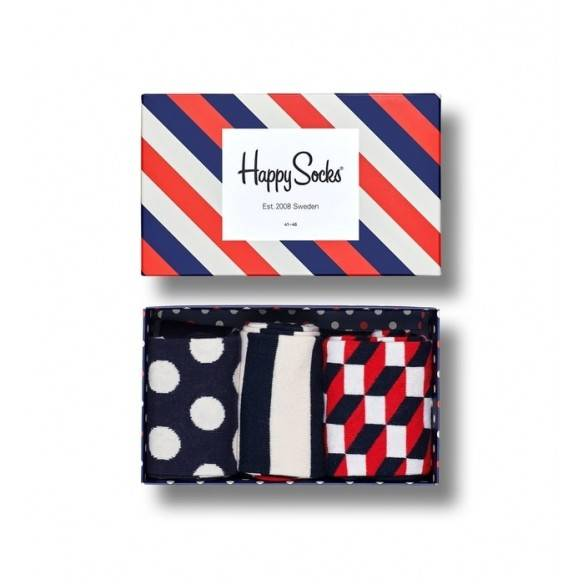 Happy Socks Gift Box Stripe