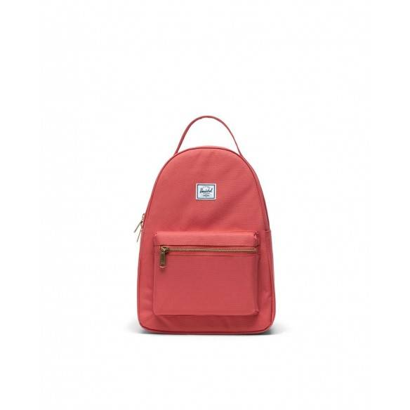 Herschel Nova Small Cotton Casuals Backpack Mineral Red