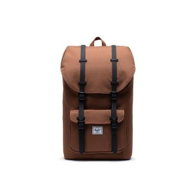 Herschel Mochila Little America Saddle Brown/ Black