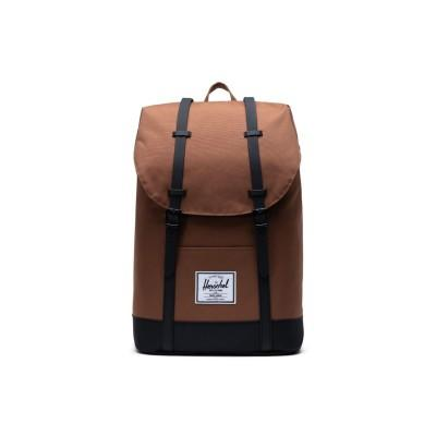 Herschel Mochila Retreat Saddle Brown Black