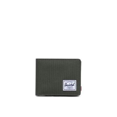 Herschel Roy Wallet Dark Olive