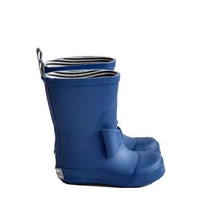 Boxbo Baby Boots Bowtie Marine Blue