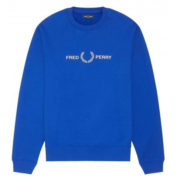 Fred Perry Bright Regal Sweatshirt M7521-I88