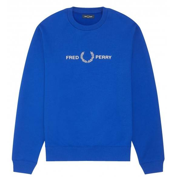 Fred Perry Sweatshirt Bright Regal M7521-I88