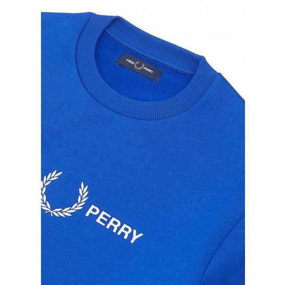 Fred Perry Sweatshirt Bright Regal M7521-I88
