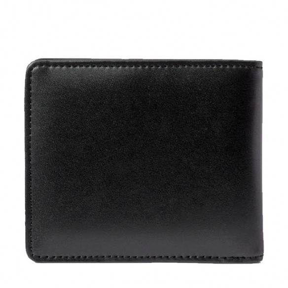 Fred Perry Embossed Billfold Wallet Black L7246-102