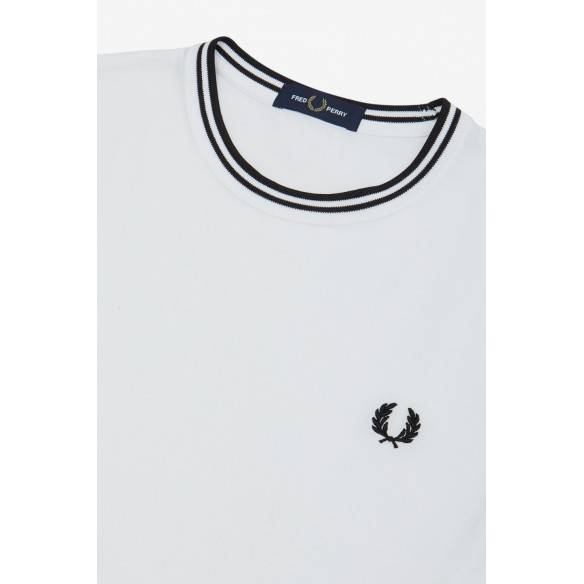Fred Perry  Twin Tipped T-shirt White M1588-100